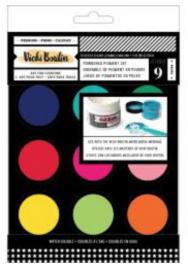 Mixed Media Powder Pigment Set - In Stock