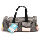 WR - CRAFTER'S MACHINE TOTE - PINK AND GREY